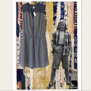 Gap Blue & White Spring Summer A-Line Dress